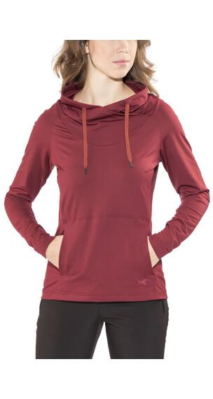 Arc'teryx Varana T-Shirt LS Women Scarlet